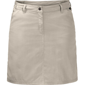 Jack Wolfskin Kalahari Gonna pantalone Donna, light sand